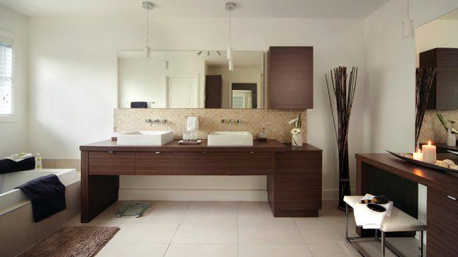 Cuarto de baño de estilo natural :: Imágenes y fotos