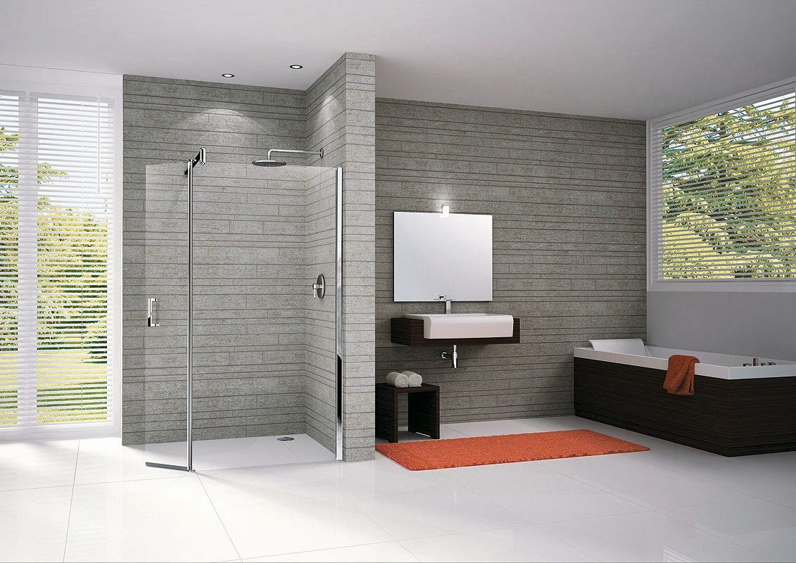 Duchas abiertas for Photos salle de bain italienne