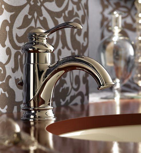 Griferia Para Baño Easy:Grifería clásica en tonos dorados :: Imágenes y fotos