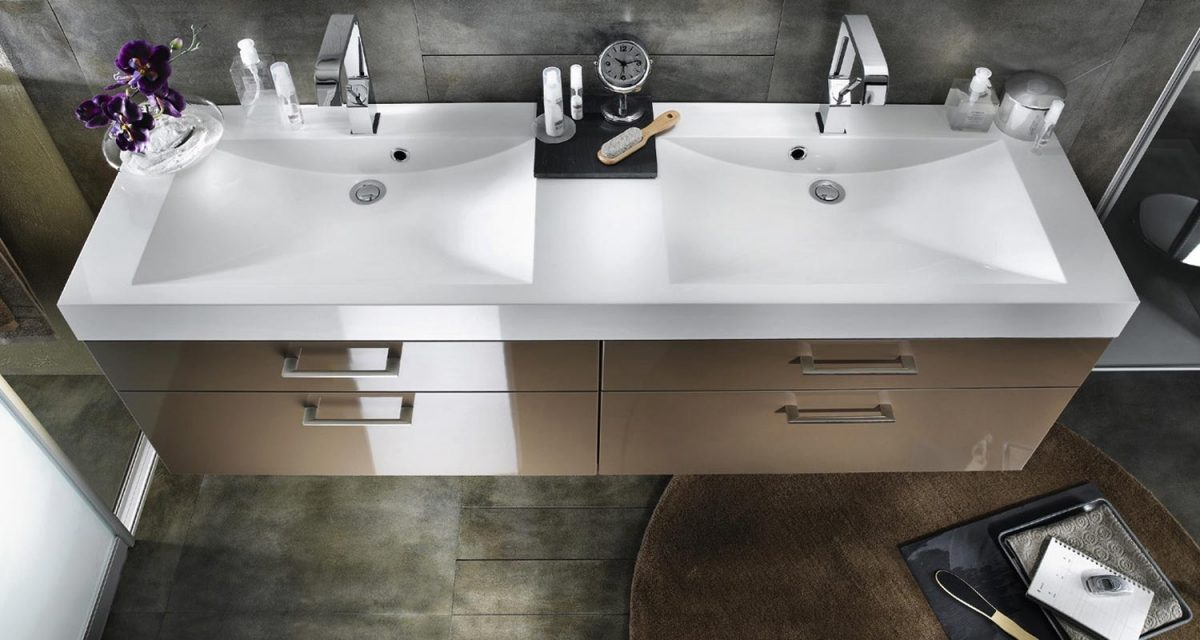 Lavabos Dobles Para Baño:Galería de imágenes: ¿Lavabos dobles o lavabos simples?