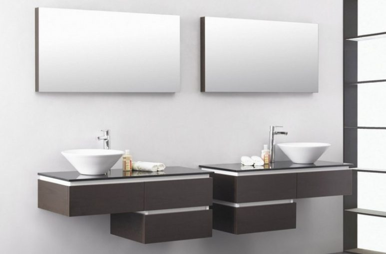 lavabo moderno con mueble im genes y fotos