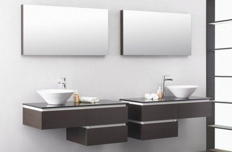 lavabo moderno con mueble